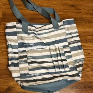 Thirty-One Tall Organizing Tote - Brush Strokes